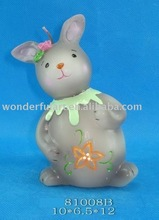lovely cute rabbit candles for Easter decoration