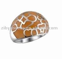 Rings Resin Jewelry Brass Resin