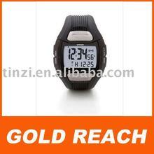 digital sport heart rate watch