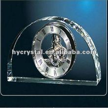 Fashion crystal clock for decoration