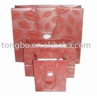 PBG-3072 Pretty Christmas Gift Packaging Size Customizable Paper Bag