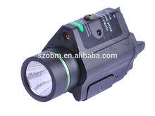 Q5 LED 3 Mode 450Lm Flashlight 5mW 635nM Green Laser Flashlight