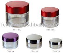 PETG round cosmetic jar