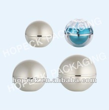 ball shape plastic container, 5g, 8g, 15g, 30g, 50g, 200g