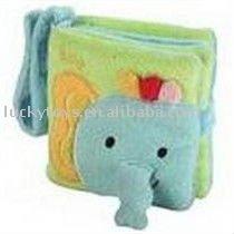 15*15cm stuffed elephant photo frame plush animal toy picture Children plush album wholesale