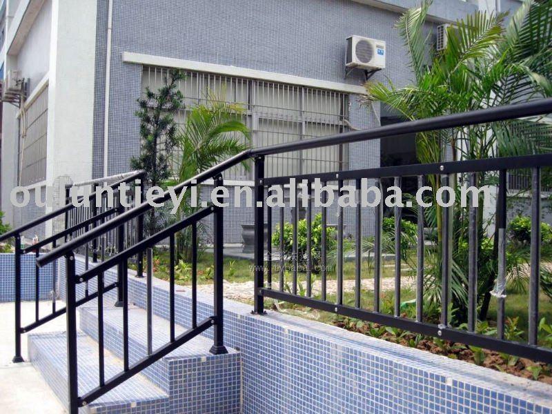 Metal Stair Railing Outdoor