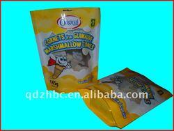beef jerky/dried fruit/onion plastic packaging bag