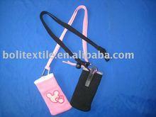 sock holder,phone sock,textile phone holder,cheap promotion idea