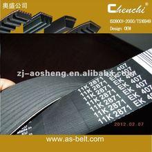 heavy duty poly ribbed v belt \v-ribbed belt\pk\PJ\PH\PL synchronous belt