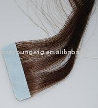 Stick skin weft Straight hair extension