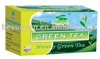 health slimming green tea bag