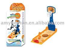 mini plastic basketball game set table game