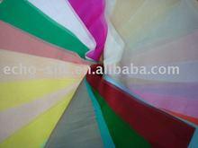 2013 Fashion dyed Silk Organza/chiffon/satin Fabric in solid