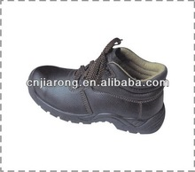 Safety working leather shoes