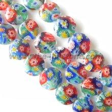 Mix Color Millefiori Glass Bead