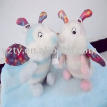 Factory supply plush bee toy for baby