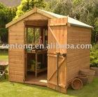 fine wooden garden sheds