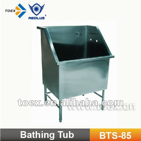 304 stainless steel dog bathtubs BTS-85
