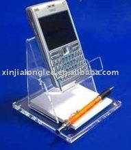 Acrylic mobile holder . pen holder