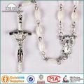 De la madre de perla del rosario con forma Oval