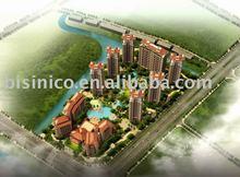 Hight definition 3D rendering,3D hotel design,3D villa design