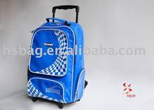 2011 Cantan fair latest design PU school trolley bags