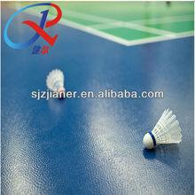 Plastic Indoor Badminton On Sale Floor
