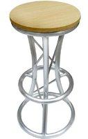 round aluminum truss bar chair,bar stool from Shanghai