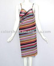 2012 Fashion custom printed beach dress