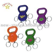 plastic key chain bottle opener NBO012