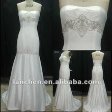 2012 Elegant Beaded Emb.Bridal Wedding Dress#J015A