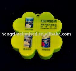 Plastic Round Pill case