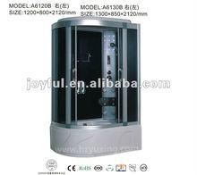 glass steam shower cabinet