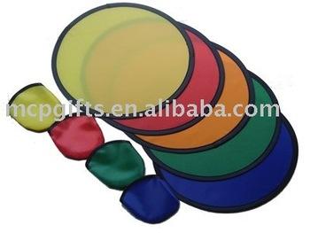 foldable nylon frisbee