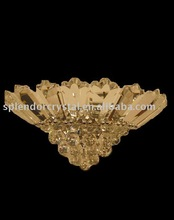 2012 New Unique Crystal Wall Lamp in Gold Finish