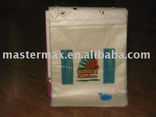 2015 disposable HDPE printing saddle food bag