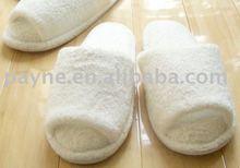 2011 fashion terry slipper white color, hotel slipper, indoor slipper