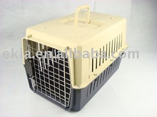 plastic larger dog carrier