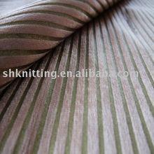 100% Polyester Bronzed Woven Velvet Upholstery Fabric