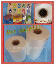 conton fair pof heat shrink film jumbo roll for food keeping