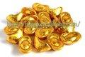 Ouro de Chocolate Yuanbao - doce escuro comida de Chocolate e China fabricante