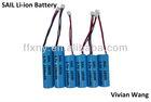 3.7V Cylinder Lithium ion Battery 18650,18500,14500