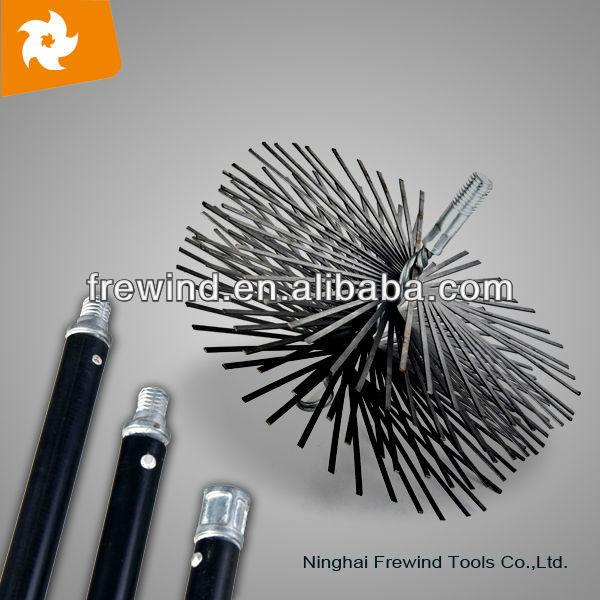 pulizia del camino pennello con flexile aste made in china