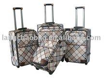 4 wheels trolley bags aluminum trolley