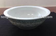 Elegant ceramic durable quality soup bowl fine porcelain