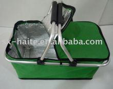 Aluminum foil cooler bag