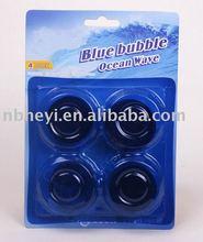 4pk blue toilet bowl cleaner block