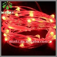 MINKI 10m red led decorative string lights bedroom