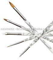Professional high quality cheap price Kolinsky hair Acrylic Nail Art Brush Set for girls beauty on sale