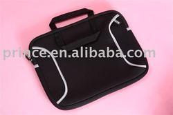 handle and side pocket neoprene laptop sleeve